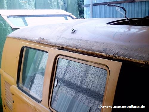 Restauration-VW-Bus-T1-Dach-1