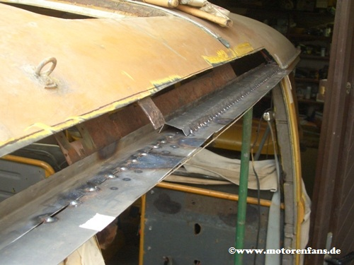 Restauration-VW-Bus-T1-Dach-11