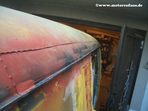 Restauration-VW-Bus-T1-Dach-16