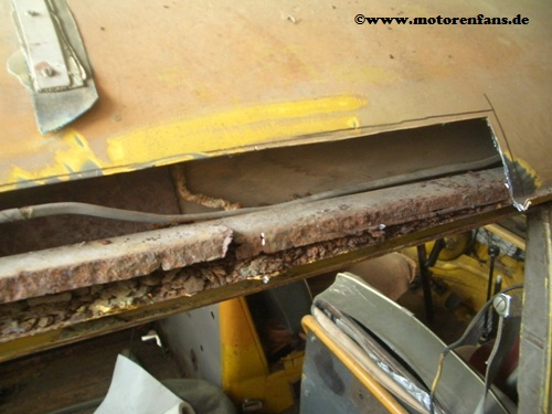 Restauration-VW-Bus-T1-Dach-7