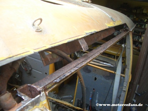 Restauration-VW-Bus-T1-Dach-9