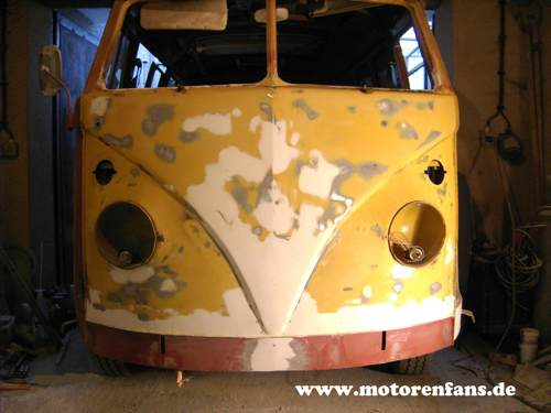 Restauration VW Bus Bulli T1